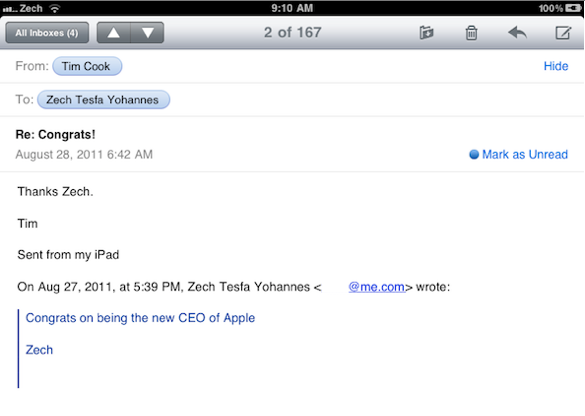 Email Tim Cook