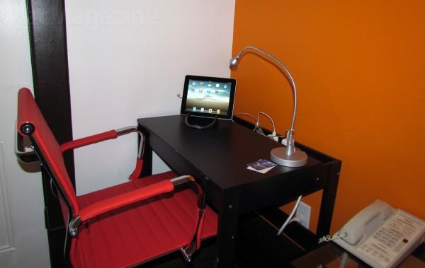iPad no Swiss Hotel