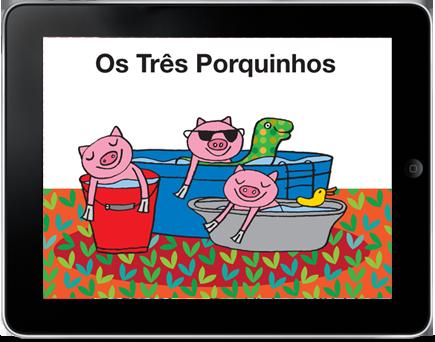 Os 3 Porquinhos no iPad