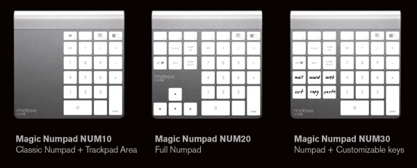 Adesivos do Magic Numpad