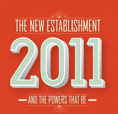 Vanity Fair The New Establishment and The Powers That Be 2011