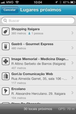 foursquare em português
