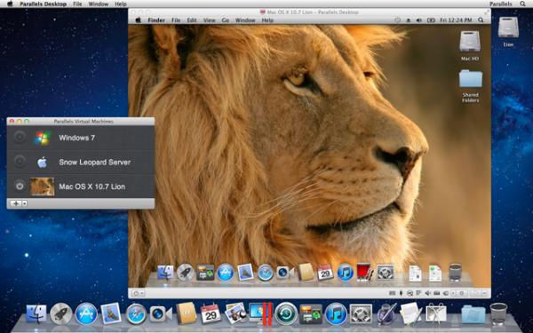 OS X Lion virtualizado