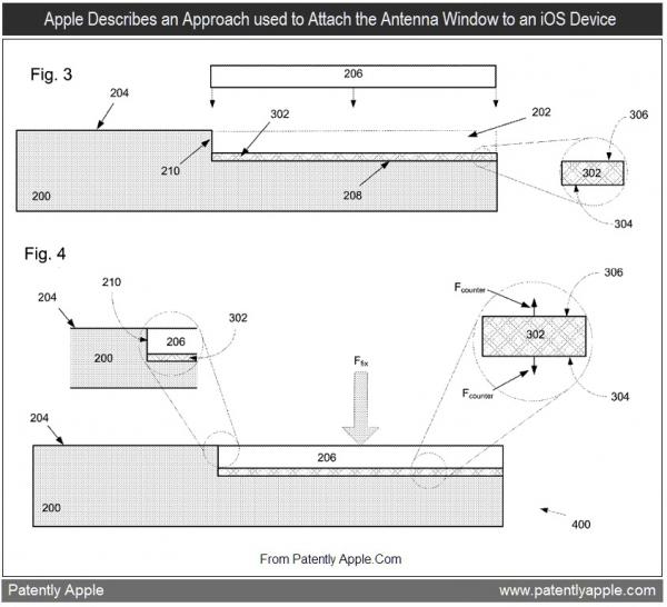 Patente de adesivo para janelas de antenas
