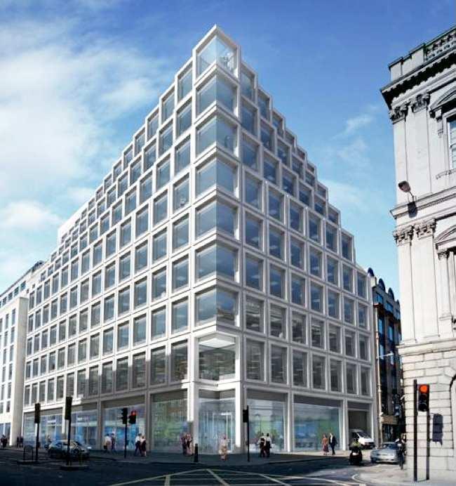 Prédio em Londres que poderá abrigar Apple Retail Store
