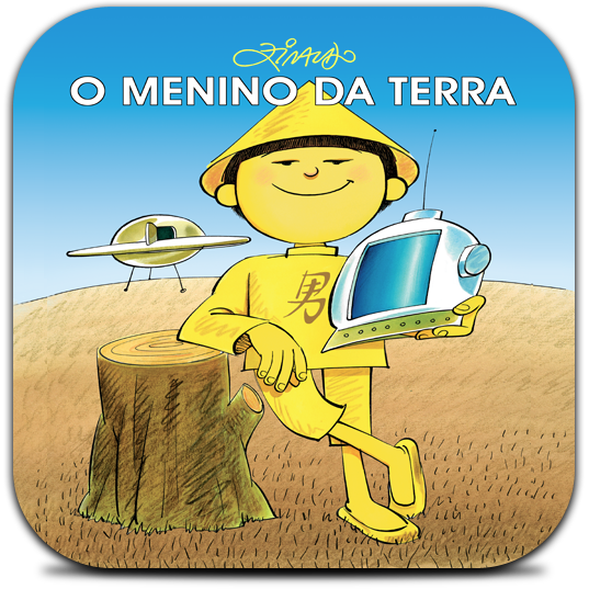 Ícone - O Menino da Terra para iPad