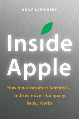 Capa do livro Inside Apple