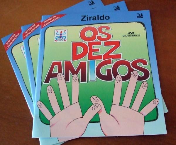 Livros - Os Dez Amigos, de Ziraldo