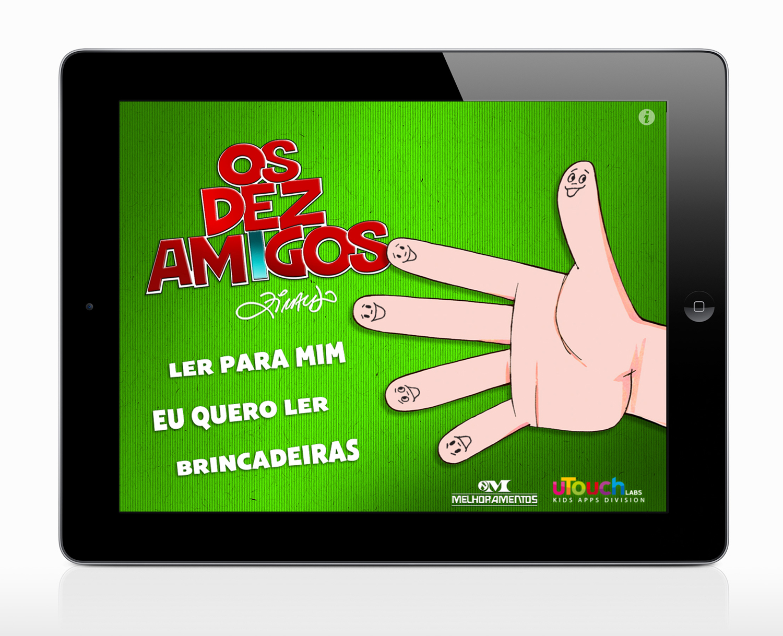 Os Dez Amigos, de Ziraldo, no iPad