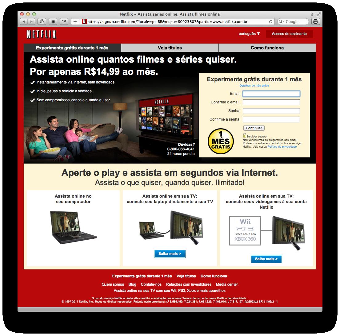 Netflix no Brasil