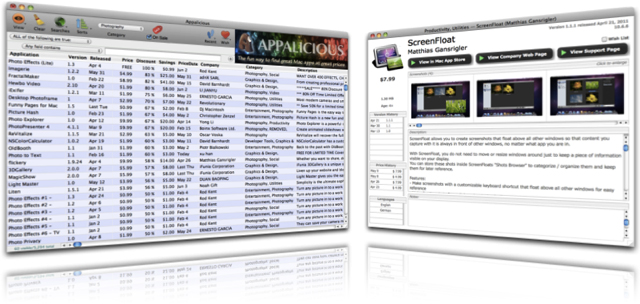 Appalicious - Mac OS X