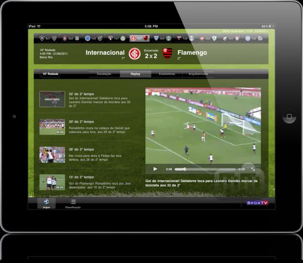 +Futebol para iPad