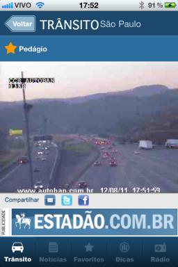 Trânsito Estadão - iPhone