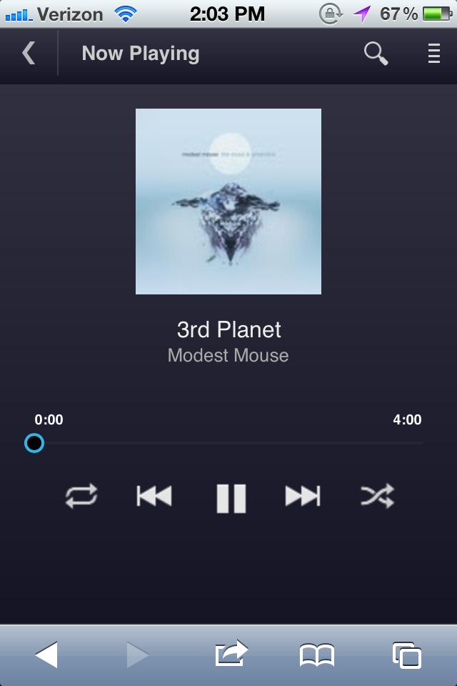 Google Music Beta no iOS