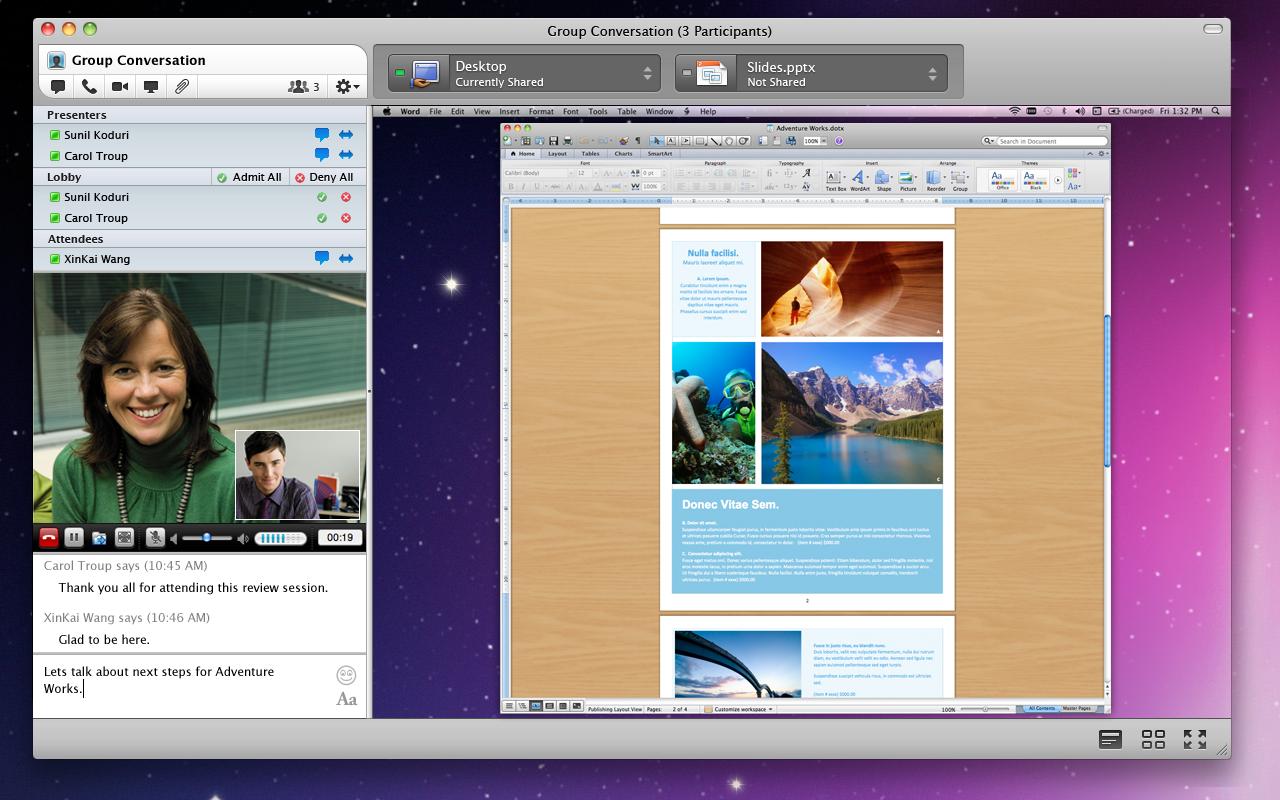 Microsoft Lync 2011 para Mac