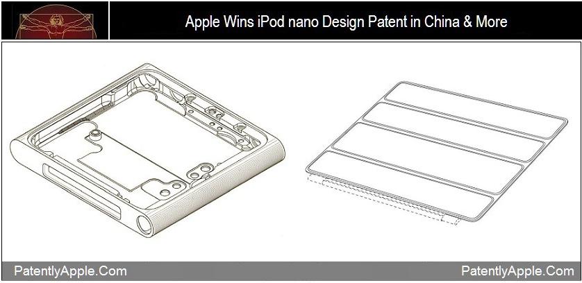 Designs do iPod nano 6G e da Smart Cover