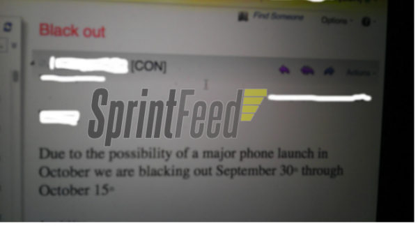 Blackout na Sprint