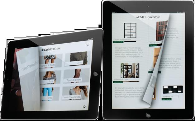 Fluid Objects em iPads