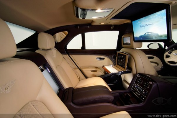 Display — Bentley Mulsanne