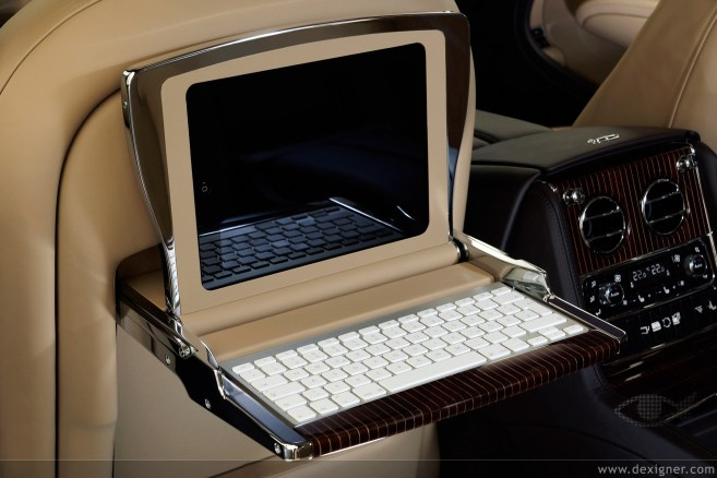 iPad — Bentley Mulsanne