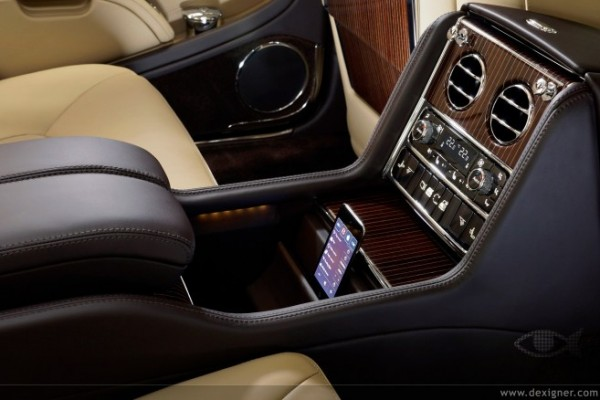 iPod touch — Bentley Mulsanne