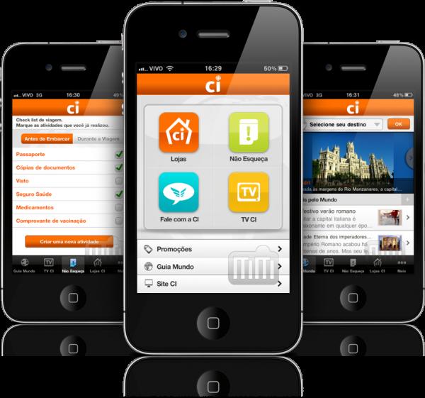 Central de Intercâmbio (CI) - iPhones