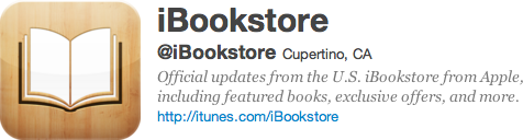 Twitter iBookstore