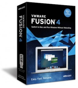 Caixa do VMware Fusion 4 para Mac
