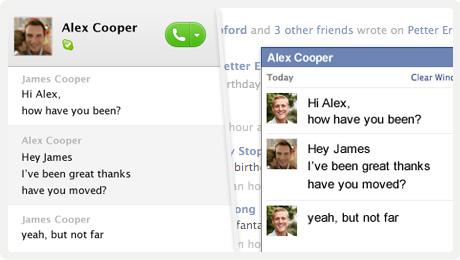 Integração Skype e Facebook