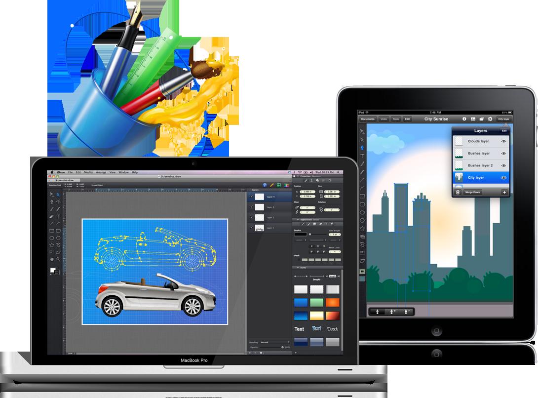 iDraw para Mac e iPad