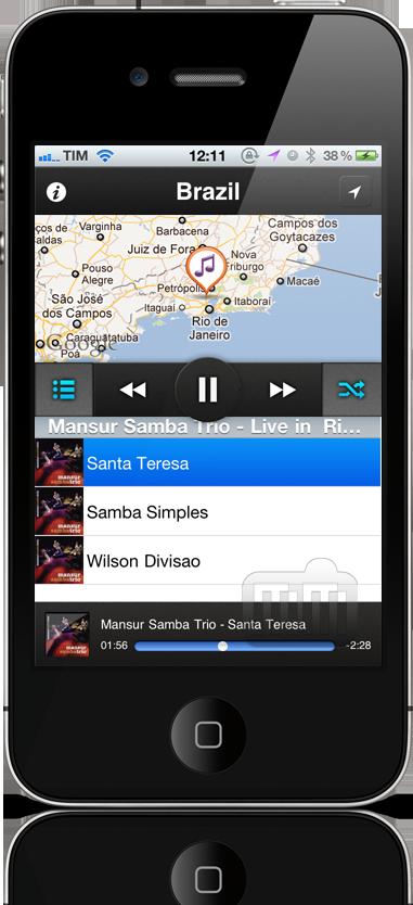 Jammap - iPhone