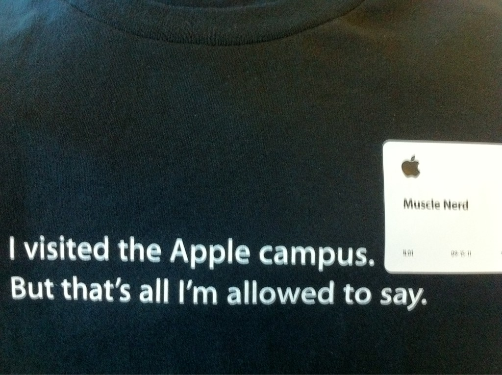 MuscleNerd na Apple