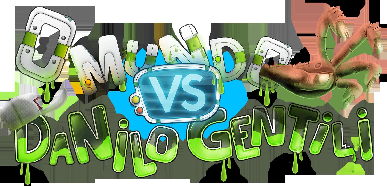 Logo - O Mundo vs Danilo Gentili