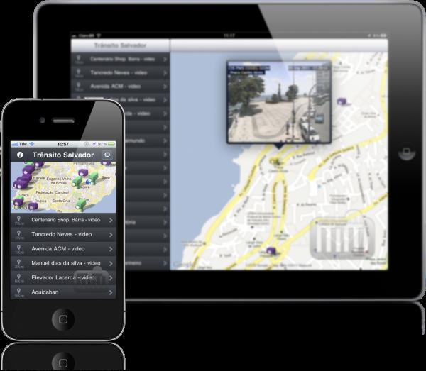Trânsito Salvador - iPad e iPhone