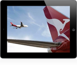iPad da Qantas