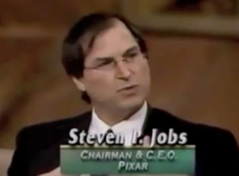 Entrevista com Steve Jobs no programa Wall $treet Week