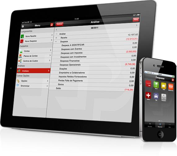 Finance para iOS, da Paiva Piovesan