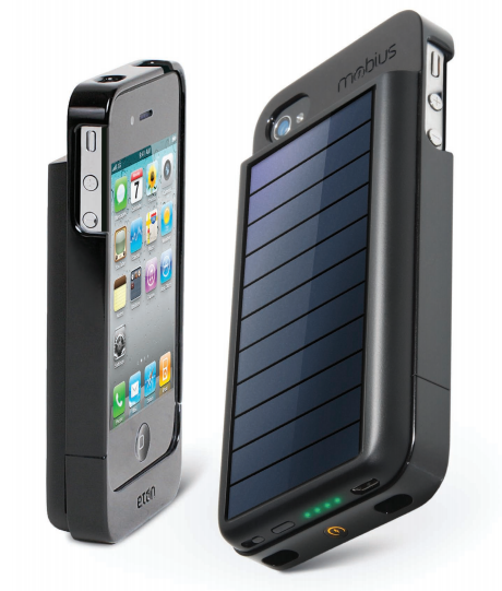 Mobius NSP300B Rechargeable Battery Case for iPhone 4