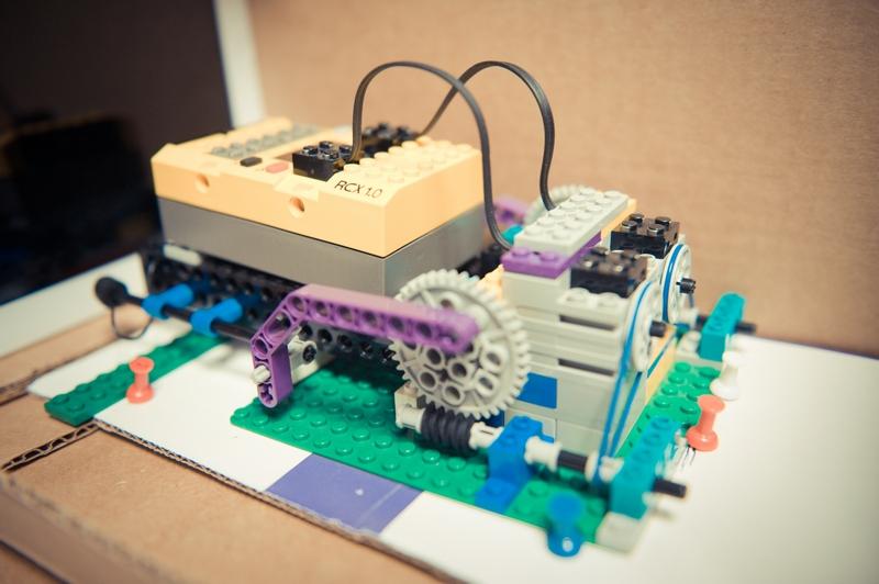 Robô de LEGO para testar app