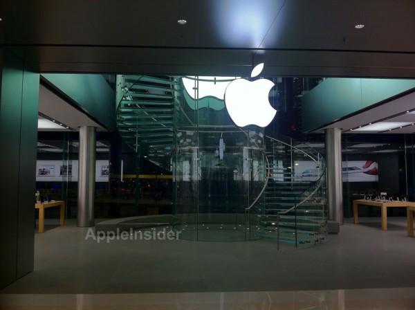 Apple Retail Store de Hong Kong por dentro