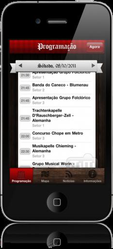 App Oktoberfest Blumenau