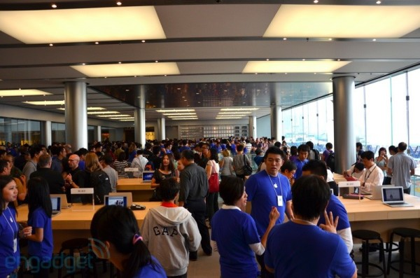 Inauguração da Apple Retail Store de Hong Kong