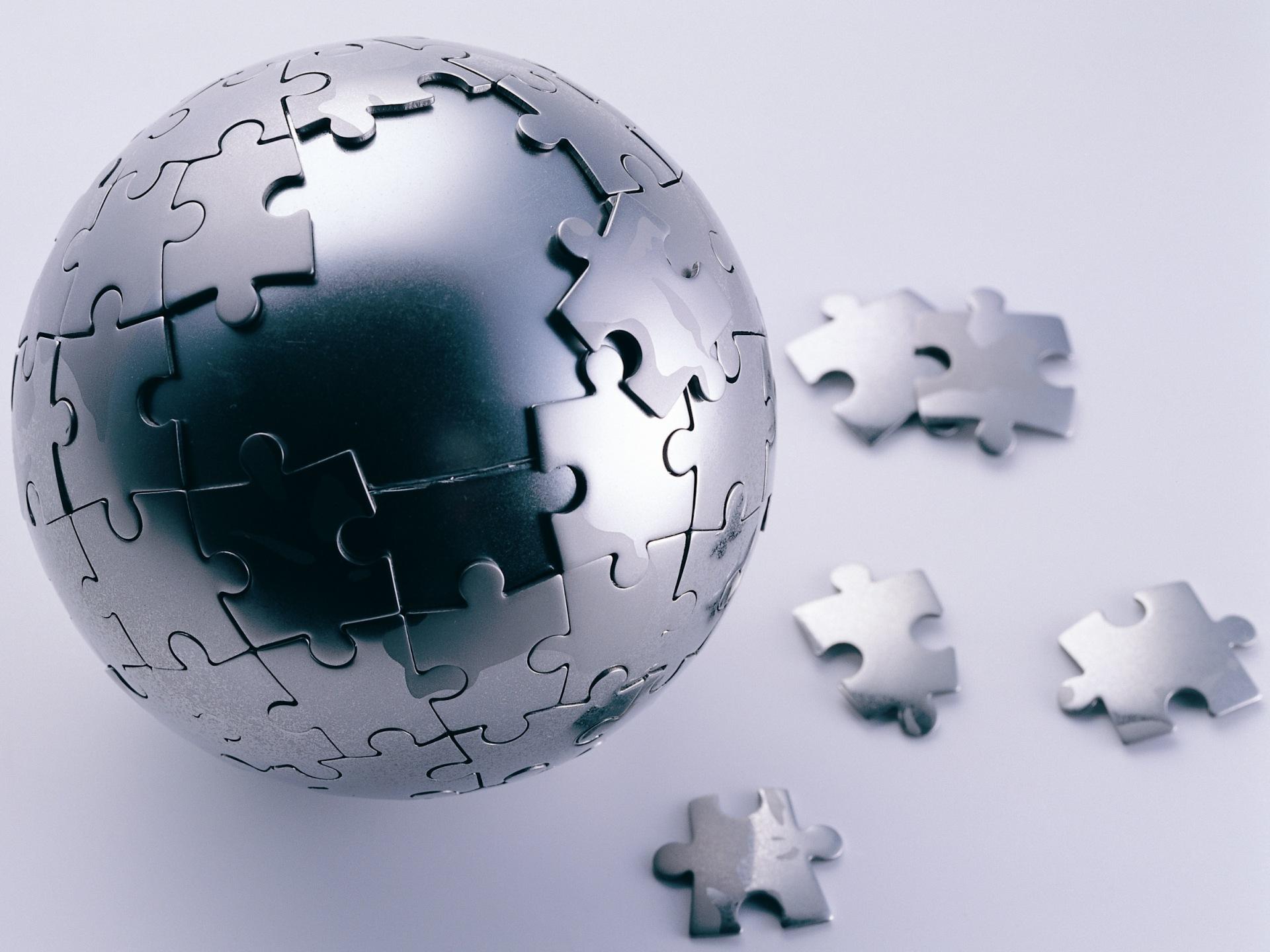 Mac Society - Esfera em quebra-cabeças