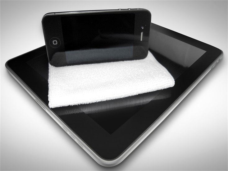 MOBiLE CLOTH com iPad e iPhone