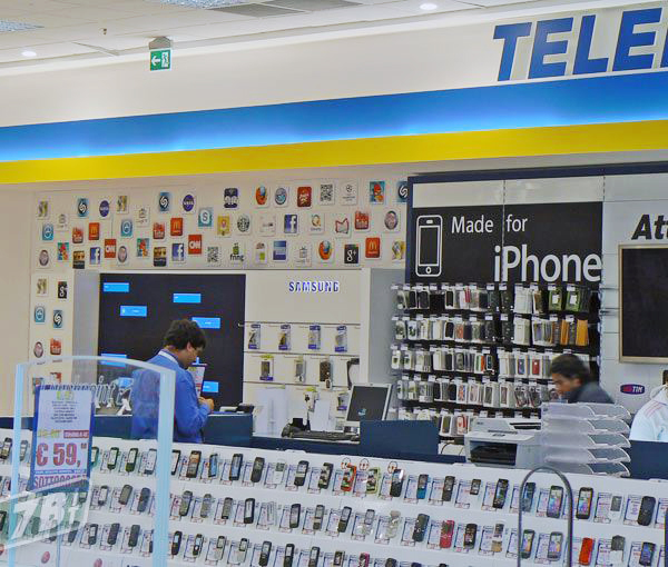 Samsung na loja da Euronics