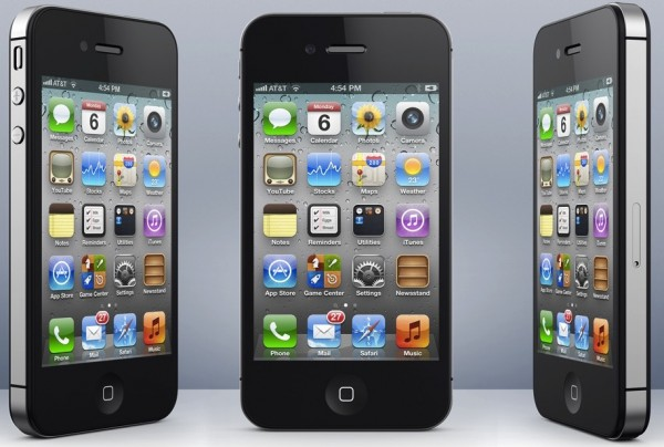 Mockup de iPhone 4S/5