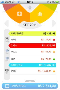 Money Care 1.1 no iPhone
