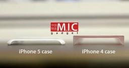 Case iPhone 5 vs. iPhone 4