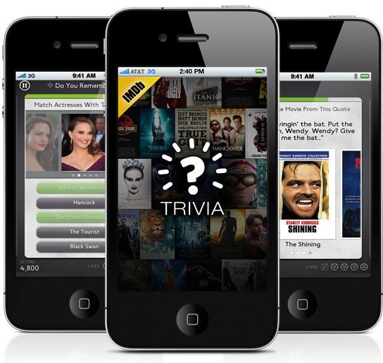 IMDb Trivia em iPhones