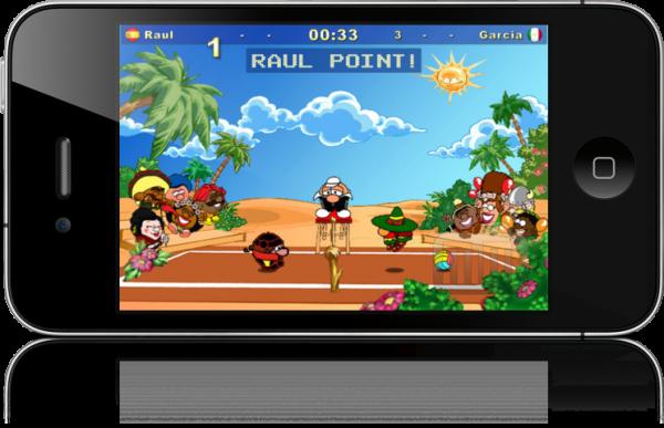 Koko Arena rodando no iPhone 4
